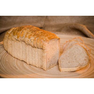 BIO Félbarna tönköly kenyér szel. 500g Piszke