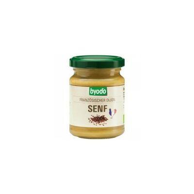 Mustár dijoni francia BIO 125ml Byodo