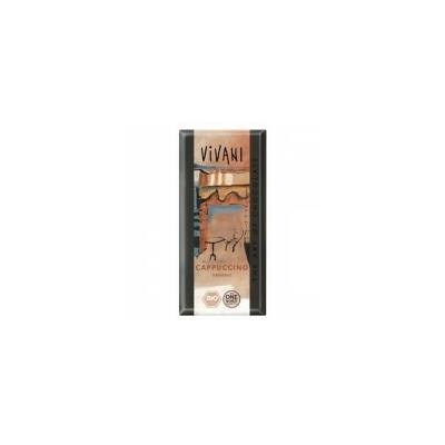 Tejcsokoládé (cappucinos) BIO 100g Vivan