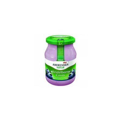 Joghurt (áfonya) BIO 500g Ande