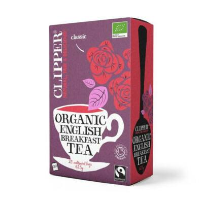 English Breakfast tea BIO 25x2,5g Cupper