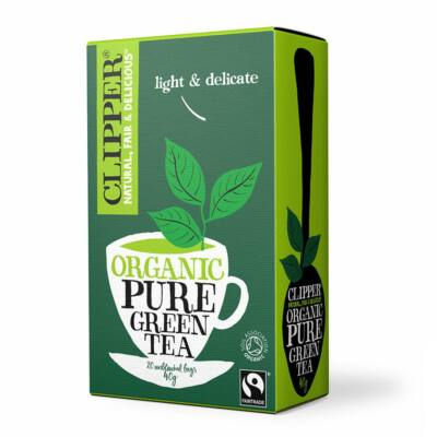 Zöld tea koff.m. (filt.) BIO 40g Clipper