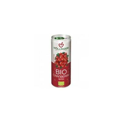 Szénsavas vörösáfonya ital BIO 250ml Höl