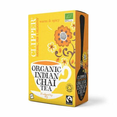 Indian Chai fekete tea BIO 20x3g Clipper
