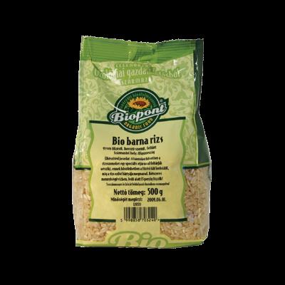 Barna rizs (hosszúszemű) BIO 500g