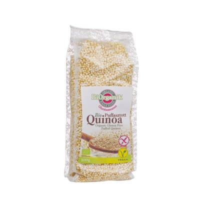 Puffasztott quinoa BIO 200g Biorganik