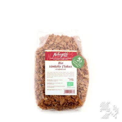 Tönköly flakes mézzel BIO 250g Naturgold