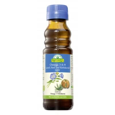 Omega 3-6-9 olajkeverék BIO 100ml Rapunz