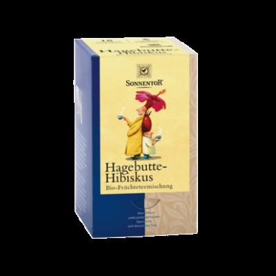 Csipkebogyó-hibi. tea BIO 18x3g Sonnento