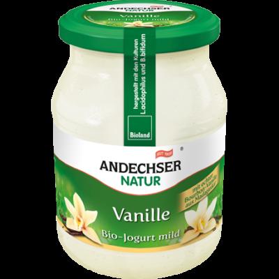 Joghurt (vaníliás) BIO 500g Andescher