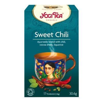 Chai tea édes-chilis BIO 17x1,8g YogiTea
