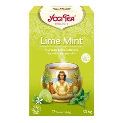 Lime-menta tea BIO 17x1,8g YogiTea
