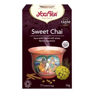 Chai tea édes 17x2g BIO YogiTea