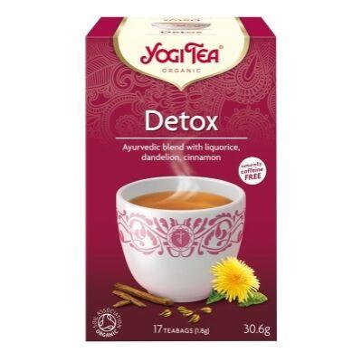 Tisztító tea BIO 17x1,8g YogiTea