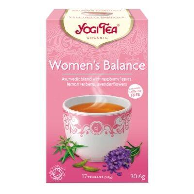 Női egyensúly tea BIO 20x1,5g YogiTea