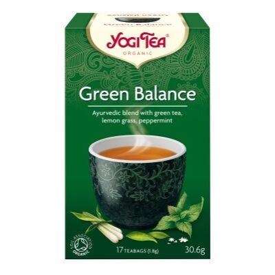Zöld Egyensúly tea BIO 17x1,8g YogiTea