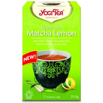 Matcha Lemon tea BIO 20x1,5g YogiTea