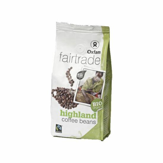 Arabica szemes kávé 250g BIO Oxfam