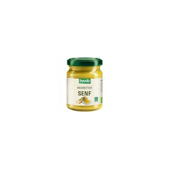 Tormás mustár bio 125 ml Byodo