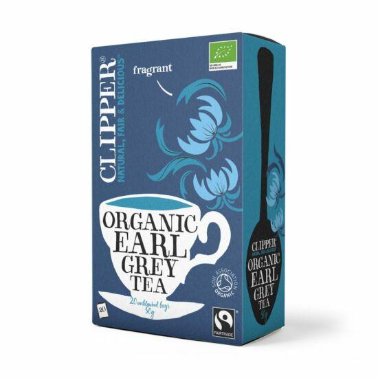 Earl Grey fekete tea 20x2,5g BIO Clipper