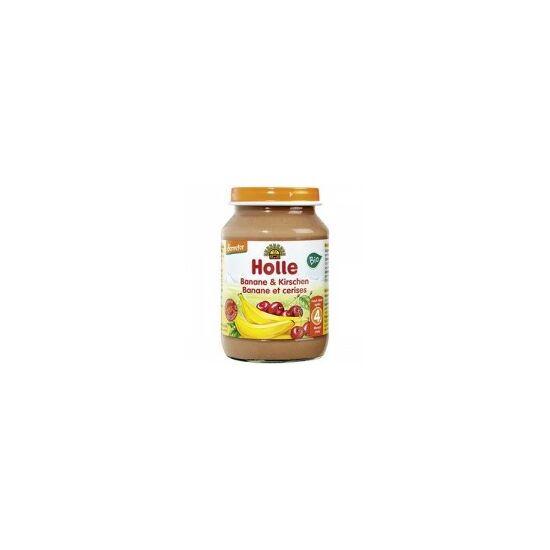 Bébiétel banán cseresznyével 190g bio Ho