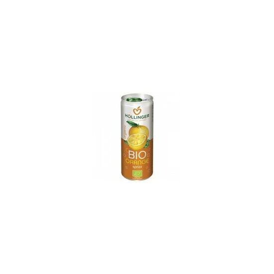 Szénsavas narancs ital BIO 250ml Hölling