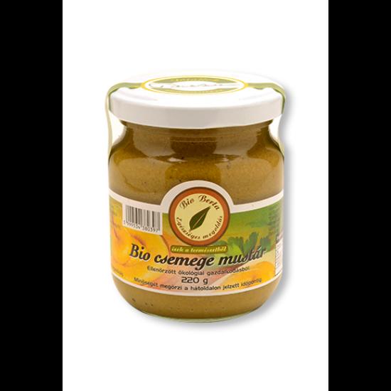 Csemege mustár 220g BIO Berta