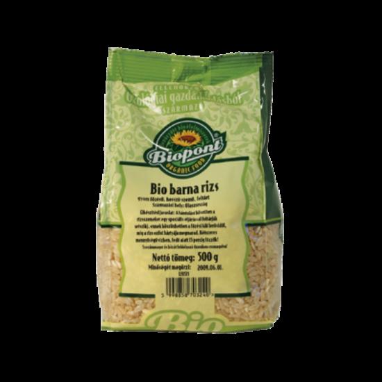 Barna rizs (hosszú szemű) BIO 500g