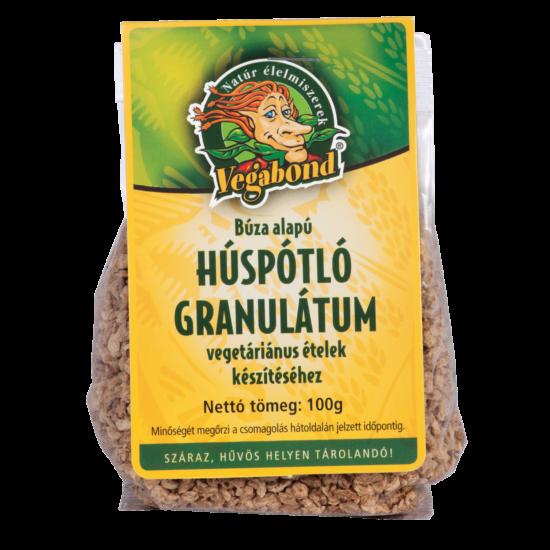 Búza alapú húspótló granulátum 100g bio