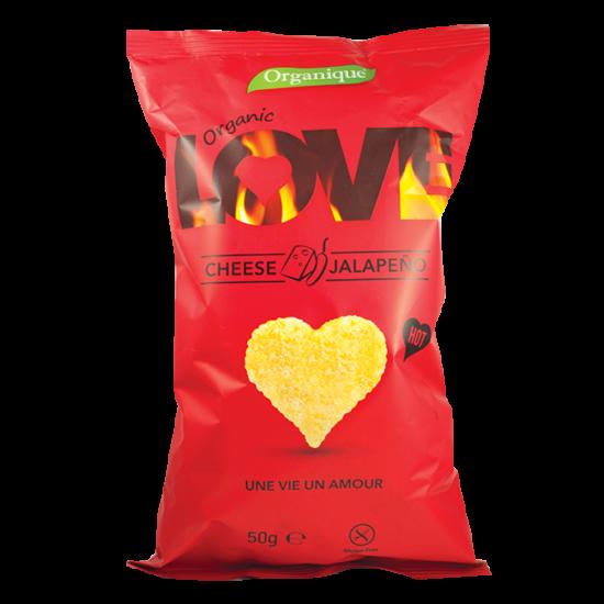 Kukorica snack (sajt-jalapeno) BIO 50g