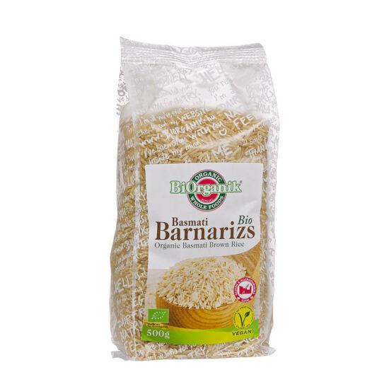 Basmati barna rizs BIO 500g BiOrganik