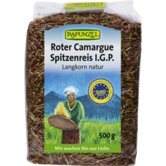 Vörös camargue rizs bio Rapunzel 500g