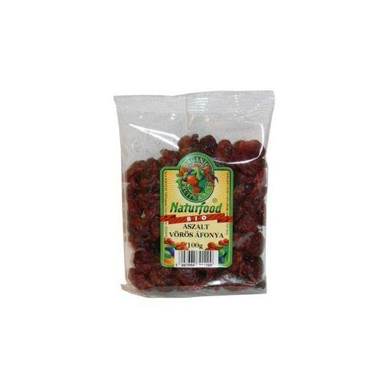 Aszalt vörös áfonya BIO 100g Naturfood