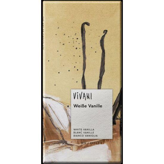 Fehércsokoládé vaníliával BIO Vivani