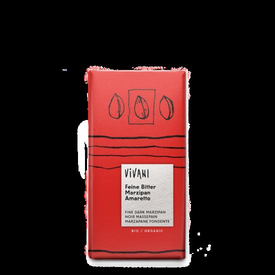 Étcsokoládé (marcipán-amaretto) BIO 100g