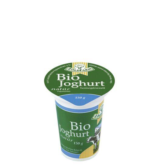 BIO joghurt natúr 150g Zöldfarm